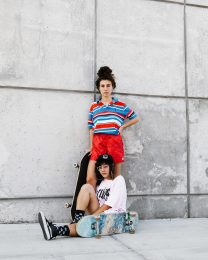 Arianna and Sam   Sk8 Collectives for The Fader